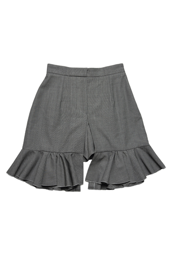 J. W. Anderson wool flapper shorts, $1,230_EDITED