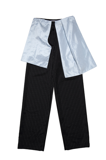 J. W. Anderson wool pants with outer skirt flap, $1,560_EDITED