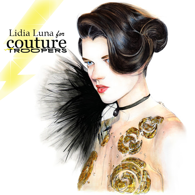 Exclusive: LIDIA LUNA x COUTURE TROOPERS