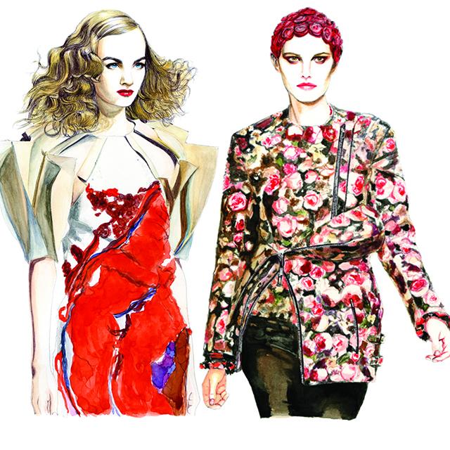 Bottega Veneta & Givenchy Fall/Winter 2013