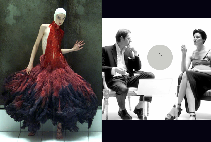 Erin O' Connor speaks about Alexander McQueen at SHOWstudio