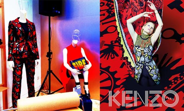 Kenzo opening