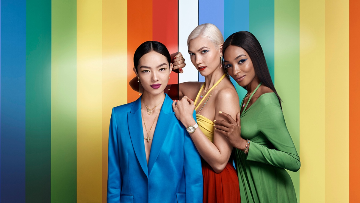 Campaign: It's all about the Rainbow Effect with Swarovski Summer 2018