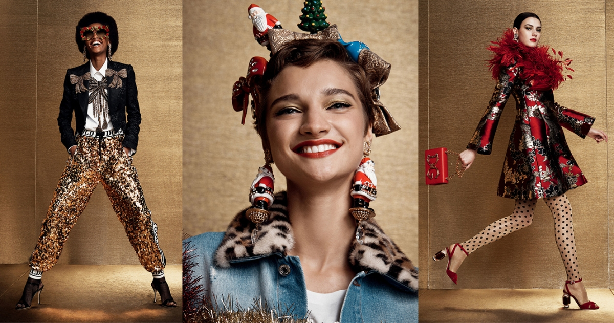 Regal Christmas Picks from Dolce & Gabbana