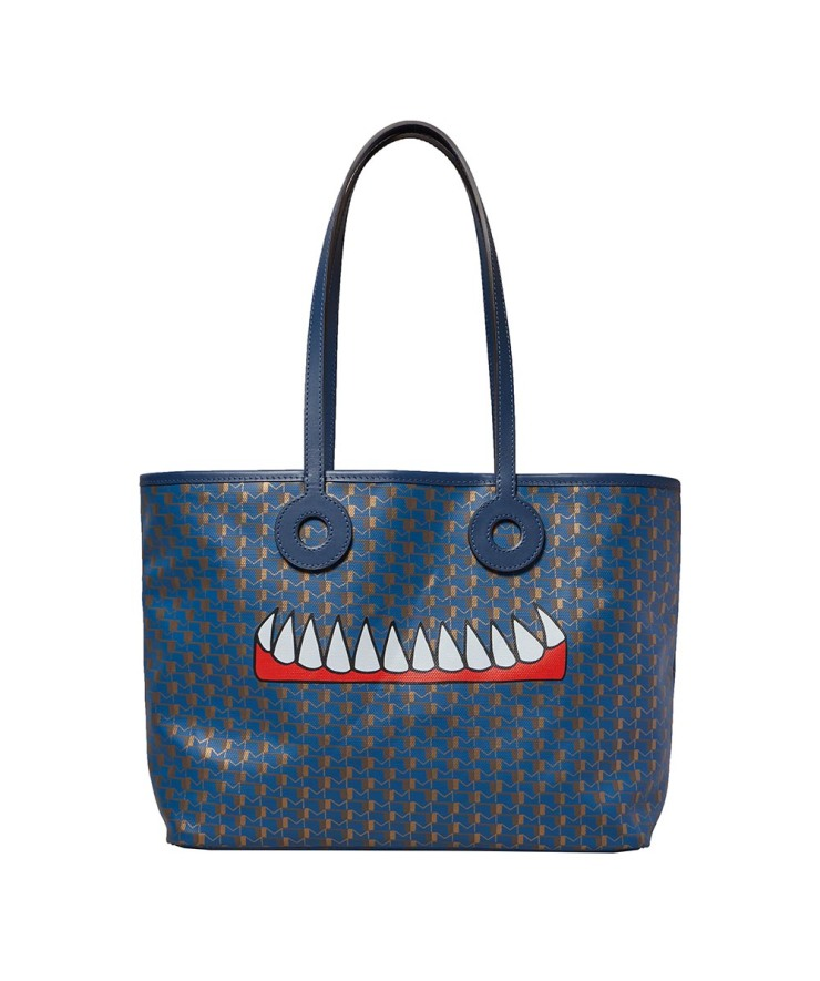 Tote Bad Dreams MM Adam - Canvas - Indigo_LR