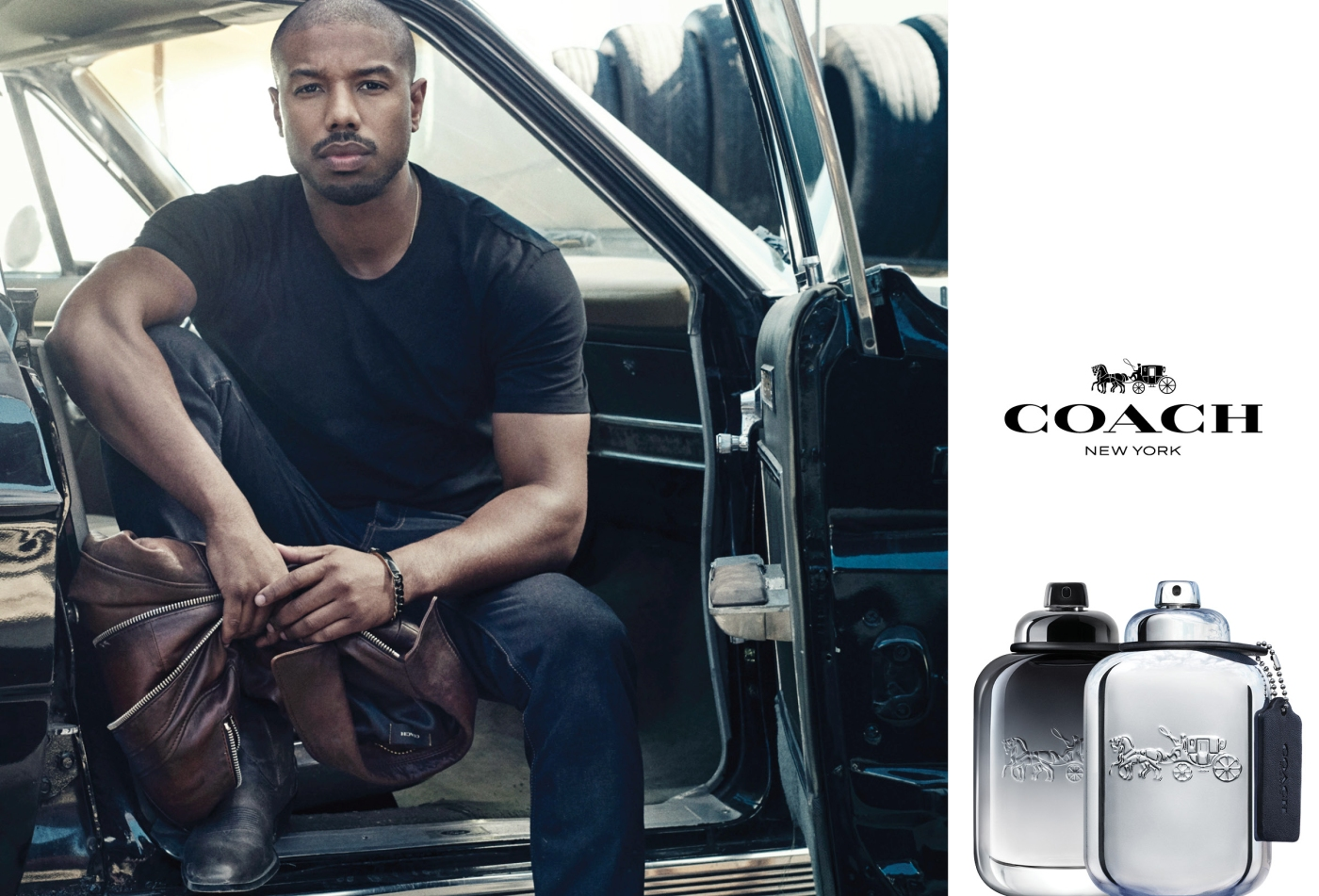 coach michael b jordan men's fragrance campaign 1